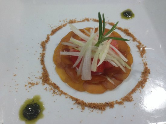SARDINIAN BOTTARGA SALAD SCENTED WITH GINGER - Picture of Aragona ...