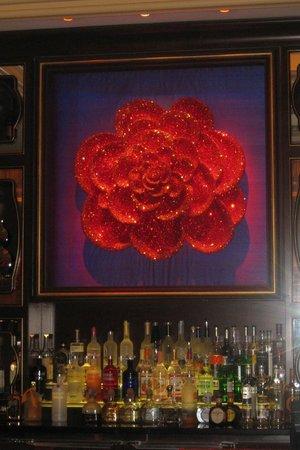 Wynn Las Vegas: Decor on the bar