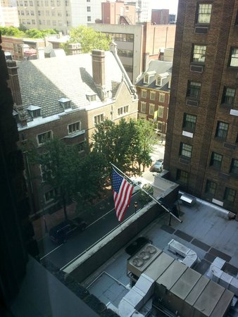 The Warwick Hotel Rittenhouse Square: View from 826