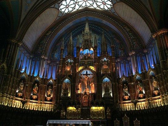 Basilique Notre-Dame de Montréal : Perfeita!