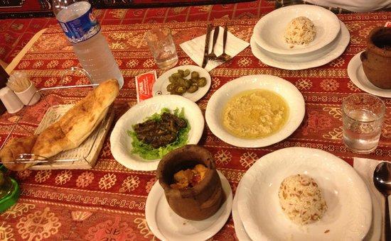 Comlek Restaurant: Dinner in Goreme