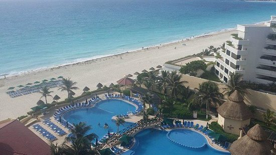 GR Solaris Cancun: View from the sixth floor