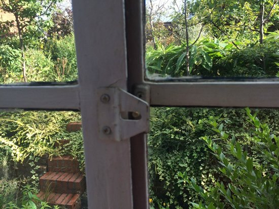 The Old Vicarage: Window was a bit broke