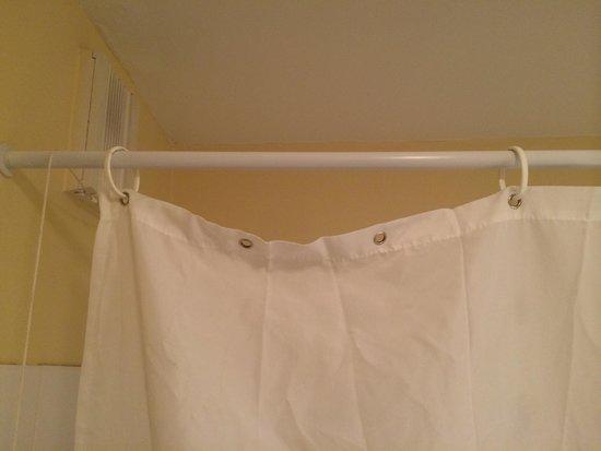 Adagio Access Avignon: The curtain in the bathroom