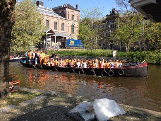 Hampshire Hotel - Lancaster Amsterdam : Festa del re