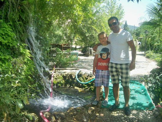 Icmeler Beach: The lovely Sedat who took me my husband and 2 boys for best brekkie ever