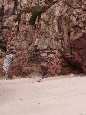 Cabo da Roca: Very secluded beach