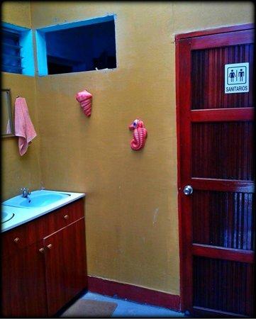Backpackers Manahuac: Shared Bathrooms