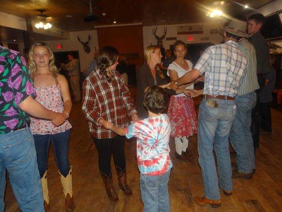 Tumbling River Ranch: Square dance