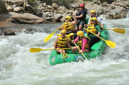 Tumbling River Ranch: rafting down the arkansas river