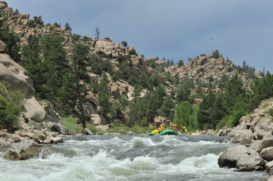 Tumbling River Ranch: whitewater rafting on arkansas river