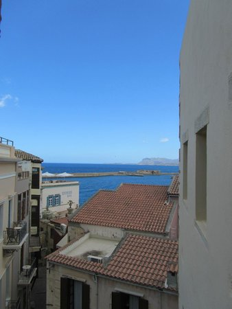 Porto del Colombo Hotel: view from top-floor room