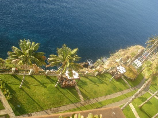 Hotel The Cliff Bay: View from room