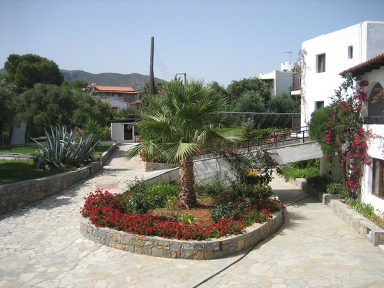 Hersonissos Maris Hotel and Suites : nouveaux bungalow au centre