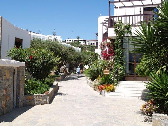 Hersonissos Maris Hotel and Suites : l'allée centrale
