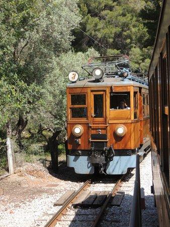 Ferrocarril de Soller: Gegenzug