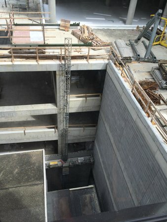 Millennium Cincinnati: View from room 827.