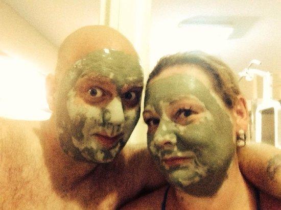 Hotel Esra and Family Suites: Turkish bath! Thanks Mehmet and Big John!