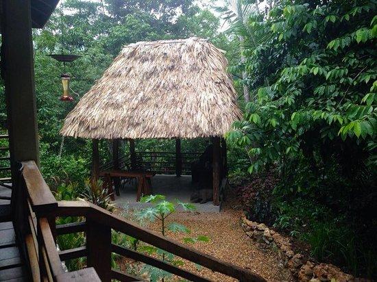 Mystic River Resort: Cabana over River