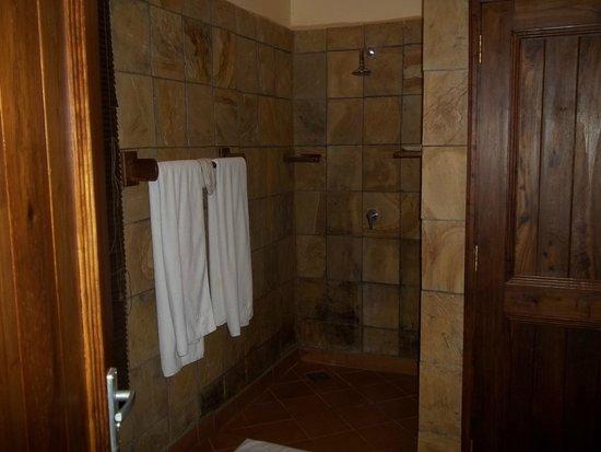Neptune Ngorongoro Luxury Lodge : Shower