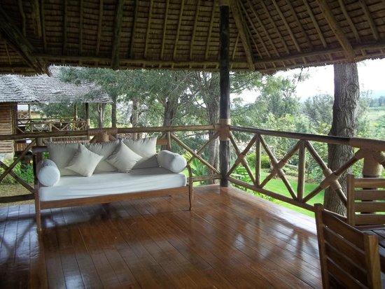 Neptune Ngorongoro Luxury Lodge : Balcony