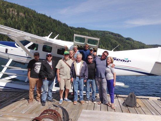 Coastal Springs Float Lodge: Departure Photo