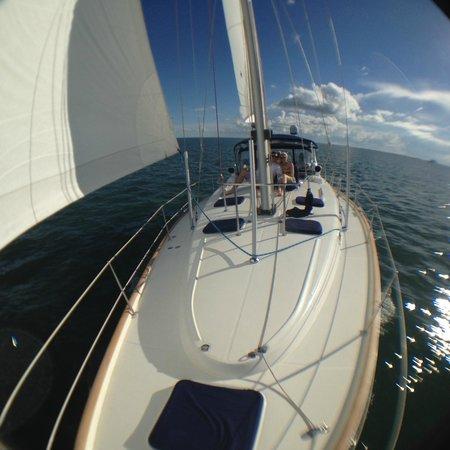 Inn at Pelican Bay: Our sailing trip in South Florida