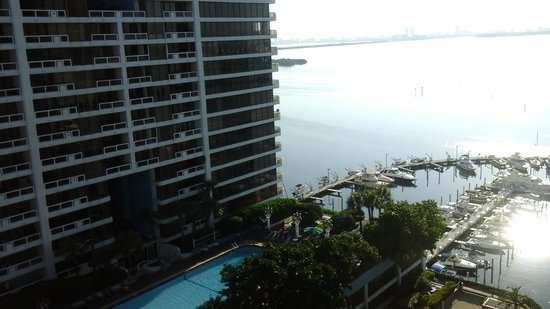 Miami Marriott Biscayne Bay: Vista habitacion