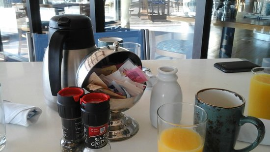 Miami Marriott Biscayne Bay: Desayuno