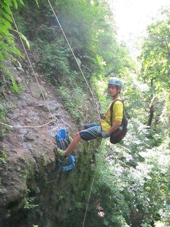 TERRA 3 Expediciones : bajando el 1er rapel