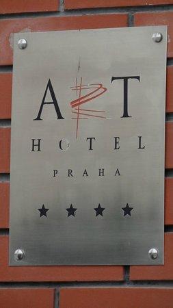 Art Hotel Prague : Hotellets Skilt