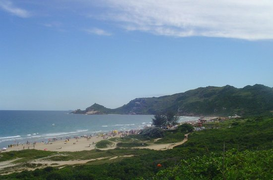 Praia Mole: vista da praia