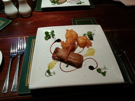 The George and Dragon Inn Restaurant: Surf and turf