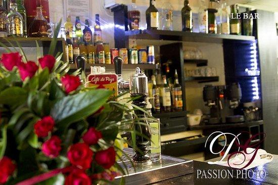 Auberge de Langlade : le bar
