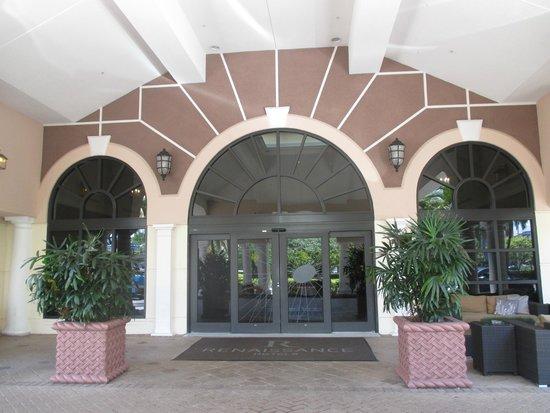 Renaissance Fort Lauderdale Cruise Port Hotel : Hotel's entrance