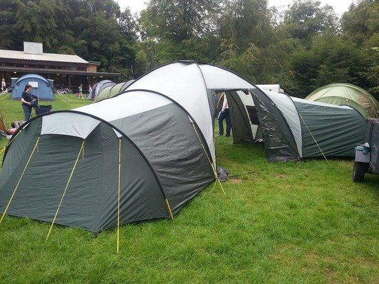 Lough Key Forest and Activity Park: My suite for the week