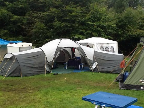 Lough Key Forest and Activity Park: Our wee set up
