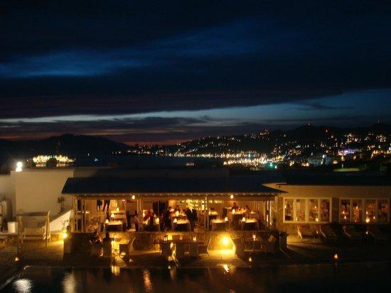 Myconian K Hotels : Vista dalla camera