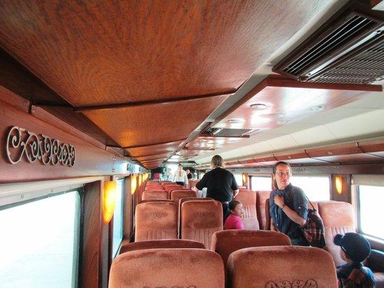 Jose Cuervo Express: Ya en el vagon