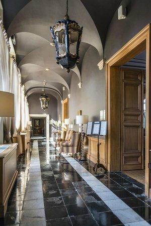 Hotel Dukes' Palace Bruges : Ein Flur