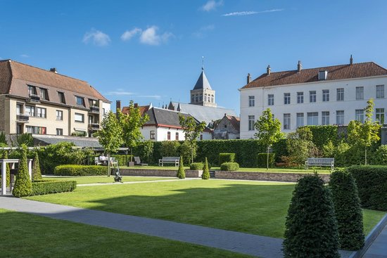 Hotel Dukes' Palace Bruges : Garten