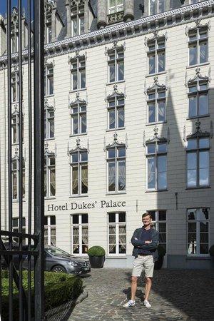 Hotel Dukes' Palace Bruges : Fassade
