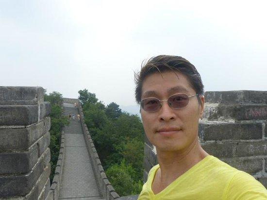 Mutianyu Great Wall: great wall in Mutianyu Beijing China