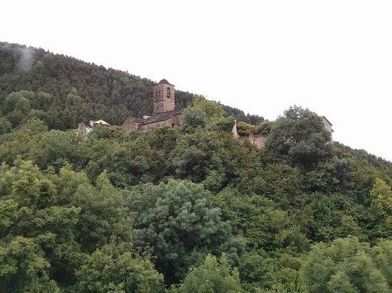 Balcon del Pirineo: Vistas desde la terraza