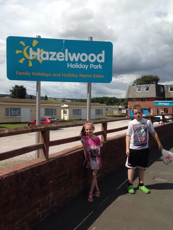 Hazelwood Holiday Park: Last day at hazelwood they did not want to leave