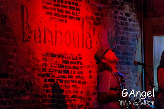 Bamboula's: great music, bad food