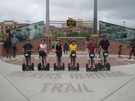 Segway the Fox Tours: Saw some neat things in Green Bay