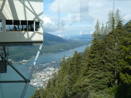 Goldbelt Mount Roberts Tramway : Spectacular scenery all around.