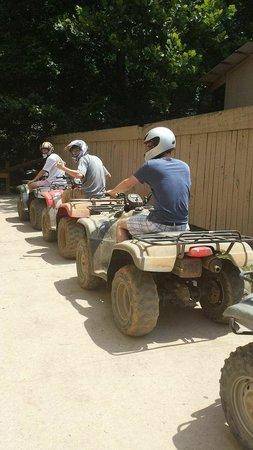 Big Rock Dude Ranch at Ponderosa : Start your engines