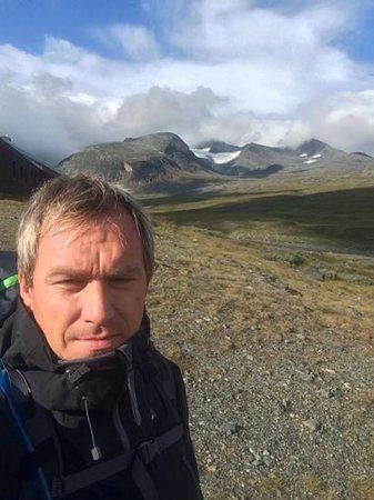 STF Sylarna Mountain Lodge: utsikt ifra Sylarna Fjellstasjon